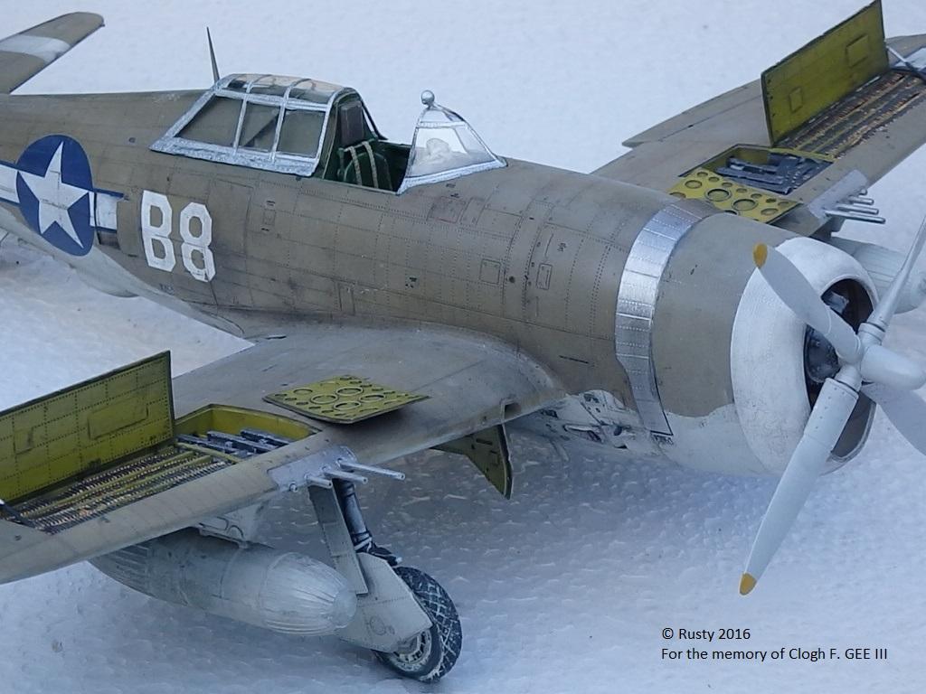 P-47D Thunderbolt : un avion, un pilote, un destin.  (Redux models 1/32) - Page 3 P1010051