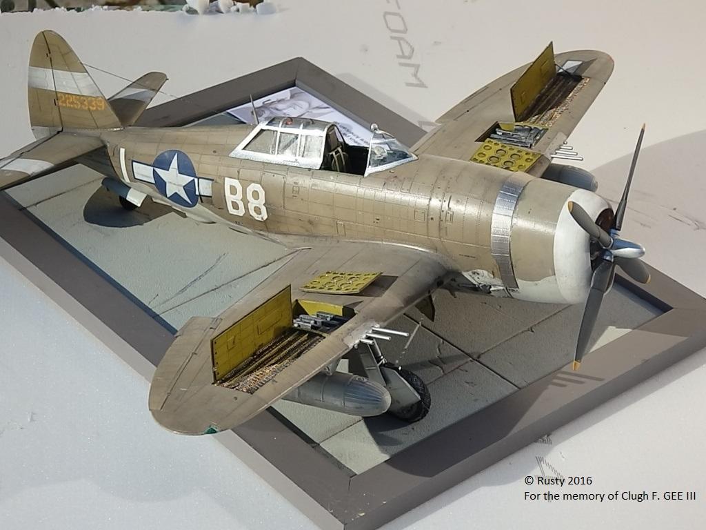 P-47D Thunderbolt : un avion, un pilote, un destin.  (Redux models 1/32) - Page 3 P1010053