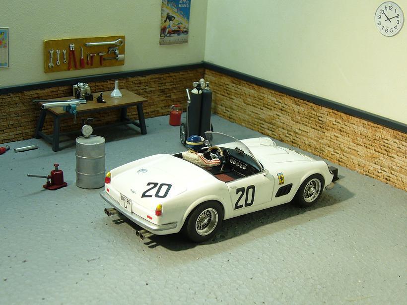 250 CALIFORNIA  Le mans 1960 P1100911