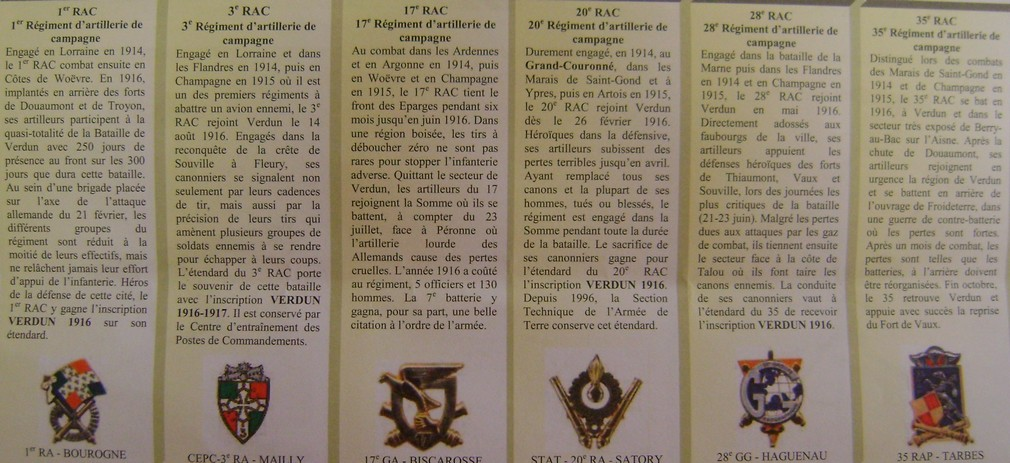 Les régiments d'artillerie à Verdun en 1916. Dsc01390