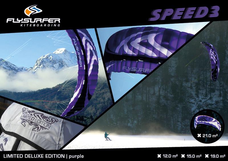 flysurfer speed 3 19 dlx purple ( VENDUE ) Speed310
