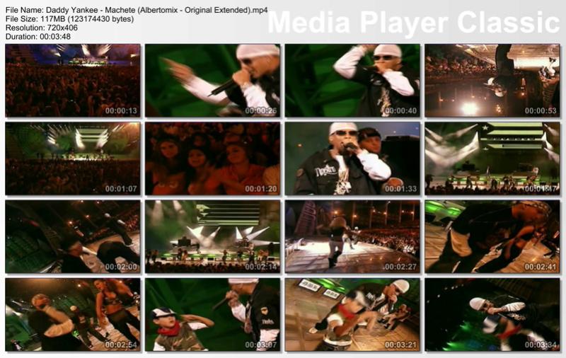 Daddy Yankee - Machete (Albertomix - Original Extended Daddy_10