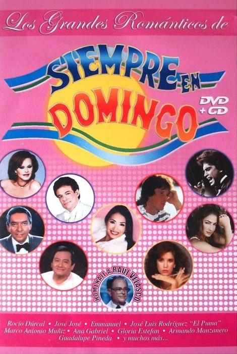 Los Grandes Romanticos De Siempre En Domingo (2006) Diyjle10