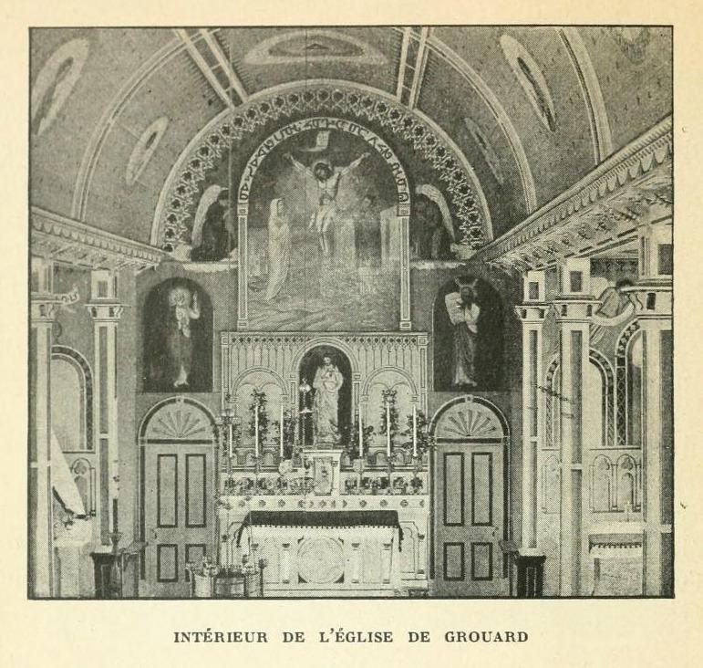 Un Missionnaire qui s'exerçat au pinceau : Mgr Émile-Jean-Baptiste-Marie GROUARD (1840-1931), Souven12