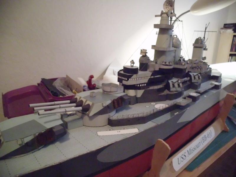 USS Missouri von GPM Nr 34 1:200 gebaut von Herbert - Seite 4 Dsci2218
