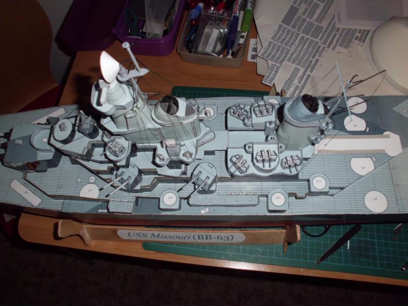 USS Missouri von GPM Nr 34 1:200 gebaut von Herbert - Seite 4 Dsci2221