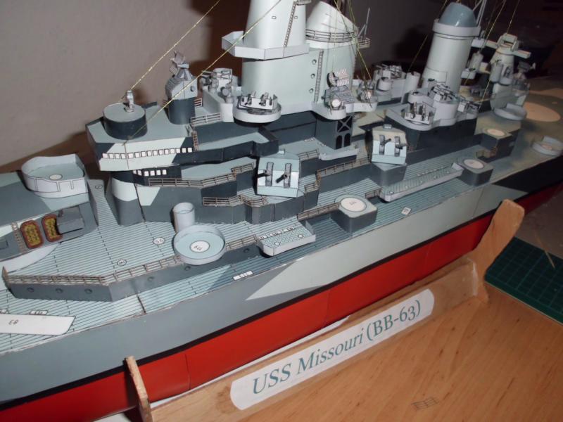 USS Missouri von GPM Nr 34 1:200 gebaut von Herbert - Seite 4 Dsci2233