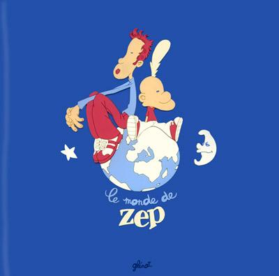 Zep le fou de dessin Albums10