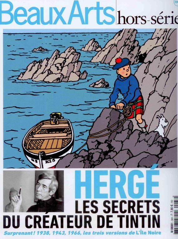 """""""Beaux Arts hors série"""" consacré à la BD - Page 2 Tintin10"""