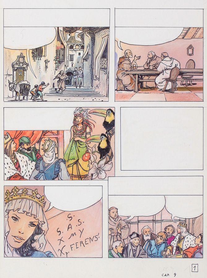 Manara, du côté d'Eros...et d'ailleurs - Page 5 Manara12
