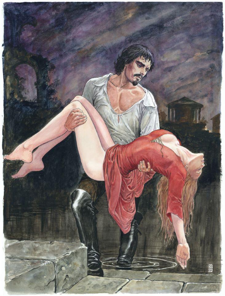 Manara, du côté d'Eros...et d'ailleurs - Page 5 Manara13