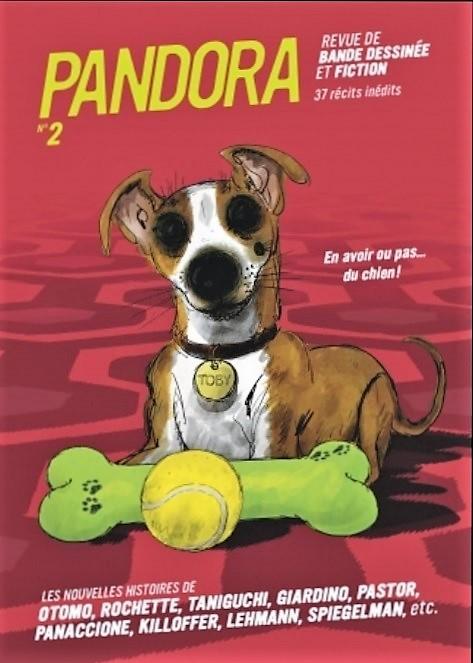 Pandora, une revue de Casterman Pandor10