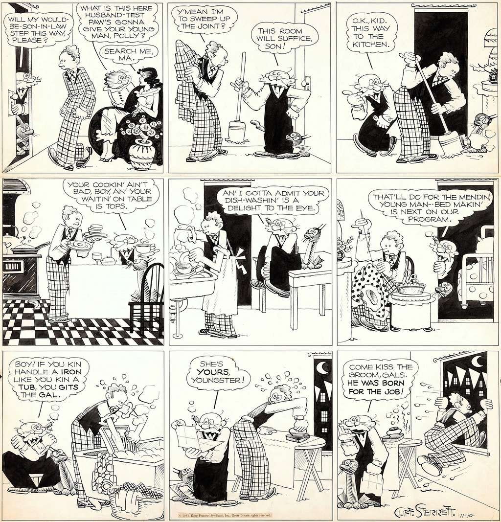 Cliff Sterett, auteur de Polly and her pals - Page 3 Pollyh10