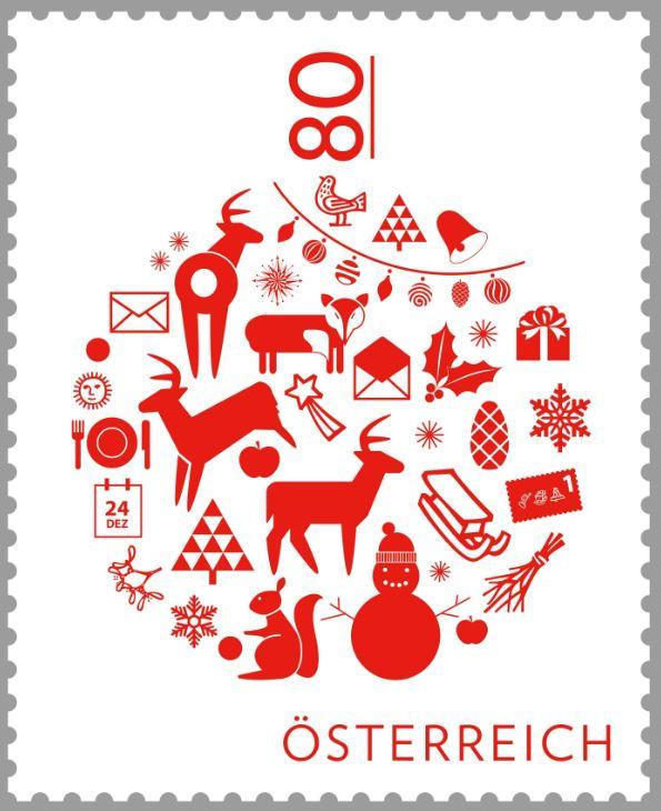 """Weihnachten - Sondermarke """"Weihnachten 2016 - Christbaumkugel""""  2_mark10"""