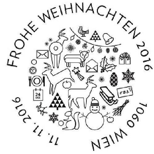 """Weihnachten - Sondermarke """"Weihnachten 2016 - Christbaumkugel""""  2_stem10"""