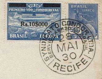 nach - Südamerikafahrt 1930, Post nach Lakehurst - Seite 4 Alfred11