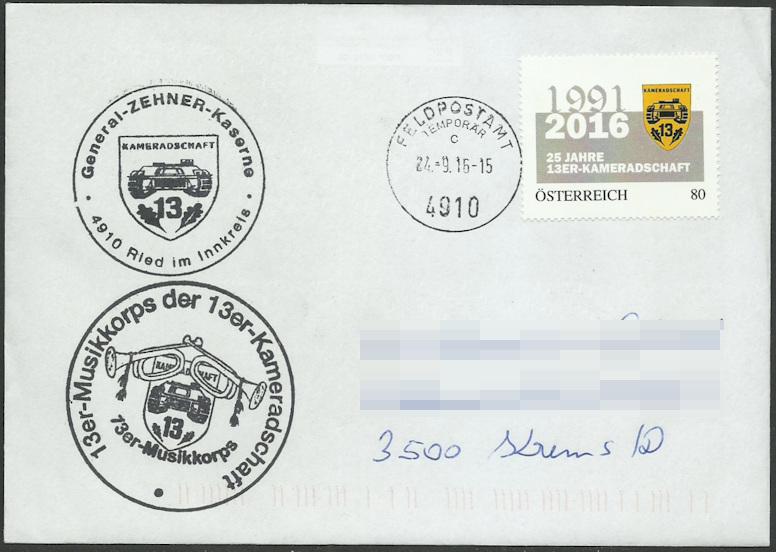 Temporäres Feldpostamt in Ried/Innkreis Niklas10