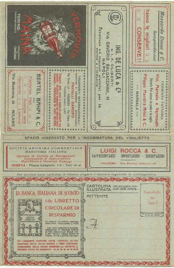 Busta Lettera Postale - Werbe-Kartenbriefe Italien Werbe_11