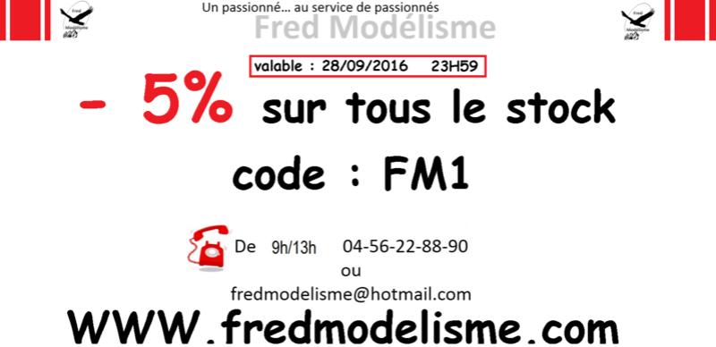 PROMO FRED MODELISME -5% tous le stock Promo11