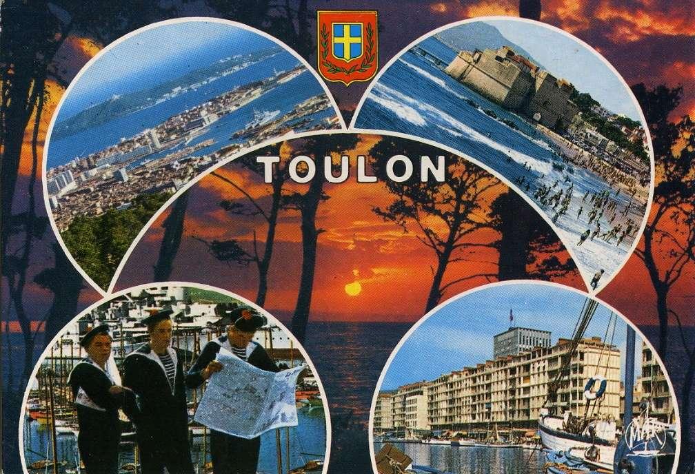 [Les ports militaires de métropole] TOULON au début des années 60 - Page 23 Marins11
