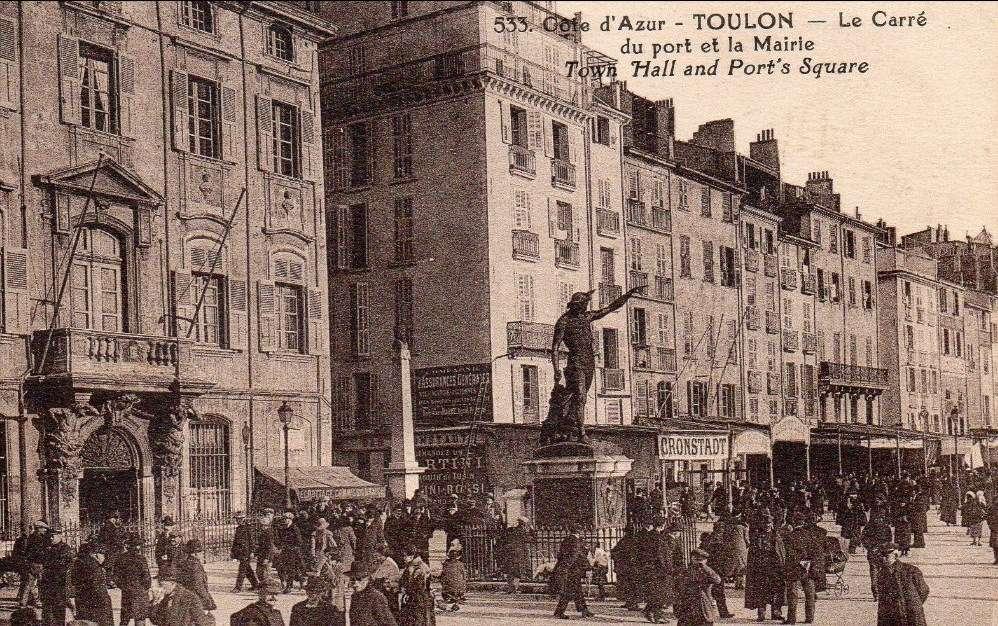 [Les ports militaires de métropole] TOULON au début des années 60 - Page 23 Toulon10