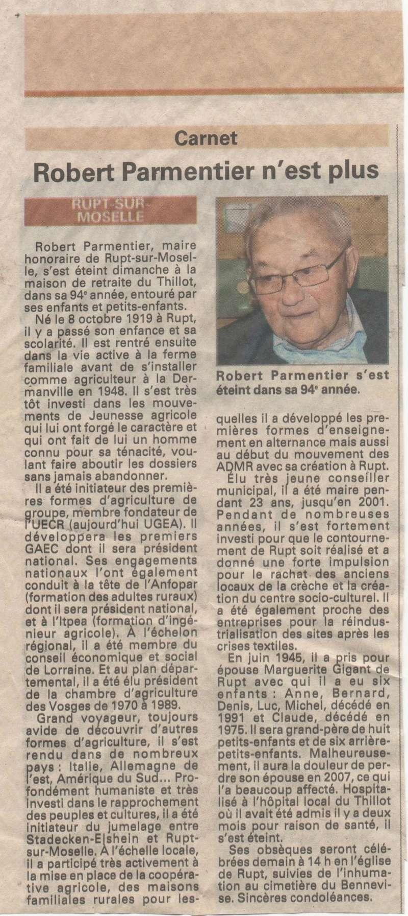 RUPT SUR MOSELLE - SOUVENIRS DE ROBERT PARMENTIER 14_00111