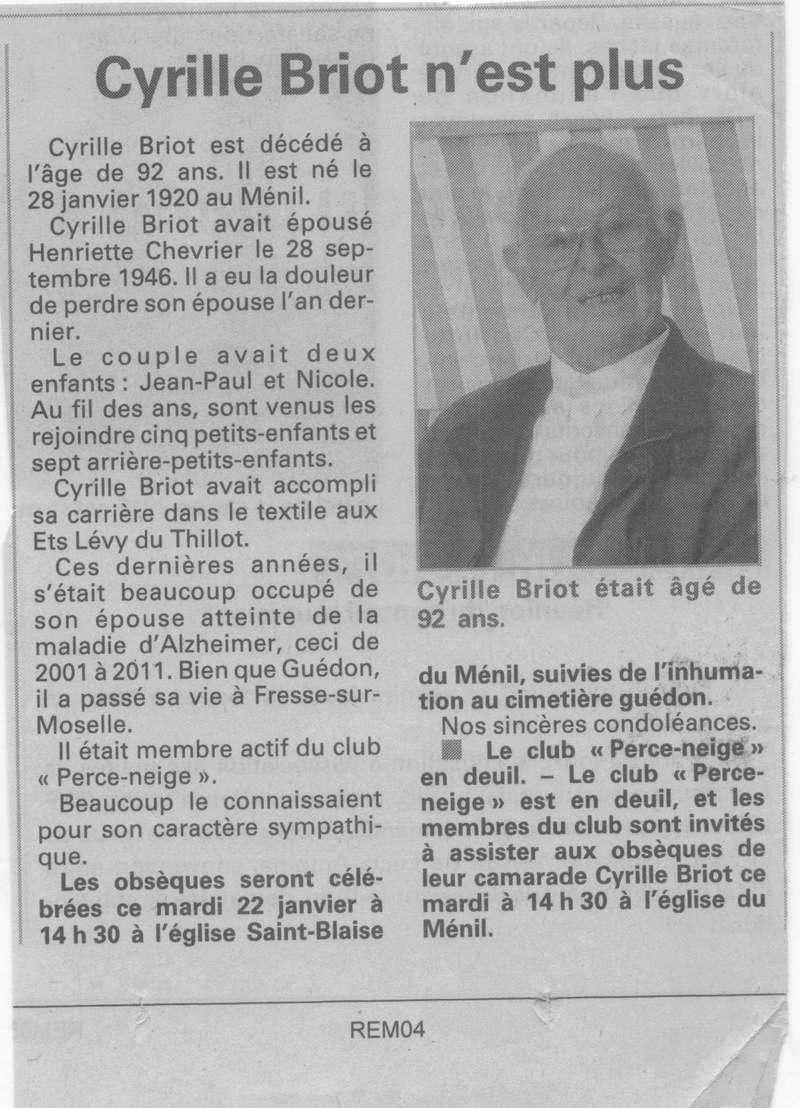 LE MENIL - SOUVENIRS DE CYRIL BRIOT  19_00111
