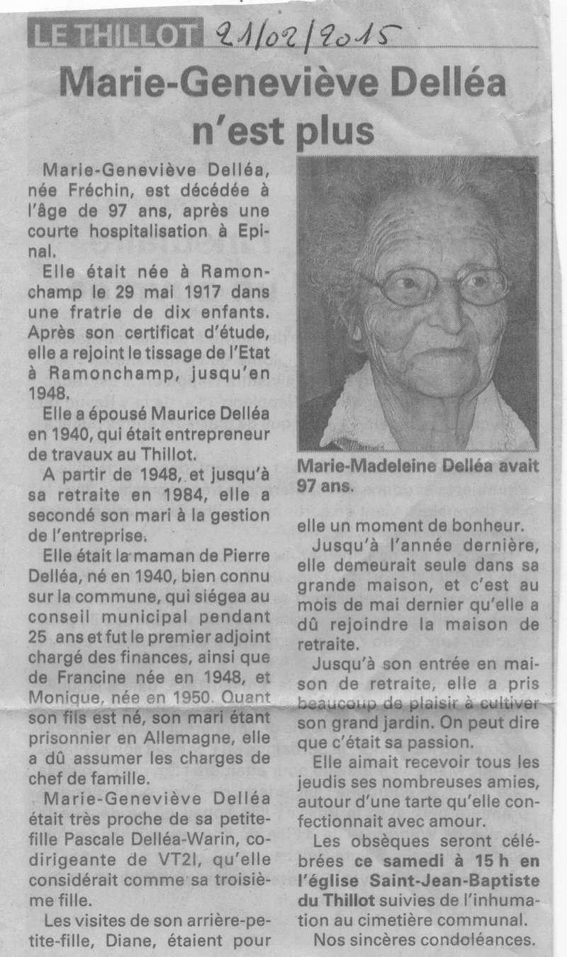 LE THILLOT - SOUVENIR DE GENEVIÈVE FRECHIN VVE MAURICE DELEA 21_00111