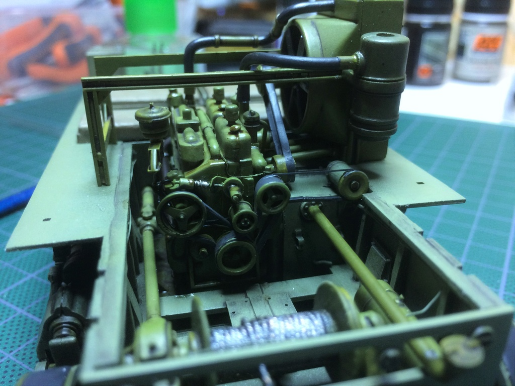 M4 High speed tractor - HOBBYBOSS - 1/35 - Page 7 Img_6748