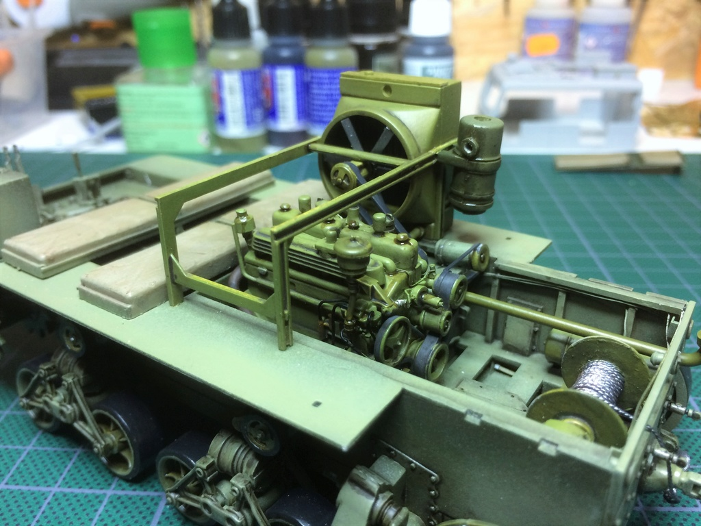 M4 High speed tractor - HOBBYBOSS - 1/35 - Page 7 Img_6750