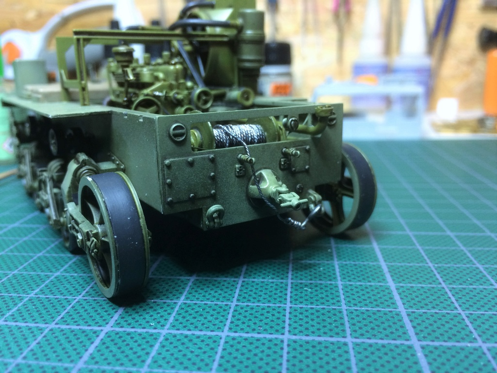 M4 High speed tractor - HOBBYBOSS - 1/35 - Page 7 Img_6753