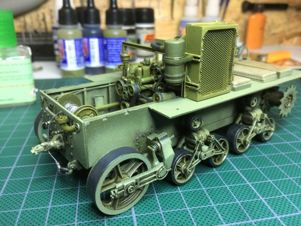 M4 High speed tractor - HOBBYBOSS - 1/35 - Page 7 Img_6756