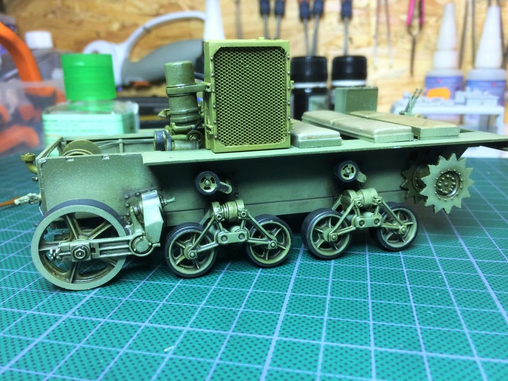 M4 High speed tractor - HOBBYBOSS - 1/35 - Page 7 Img_6757