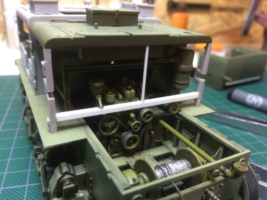 M4 High speed tractor - HOBBYBOSS - 1/35 - Page 7 Img_6758