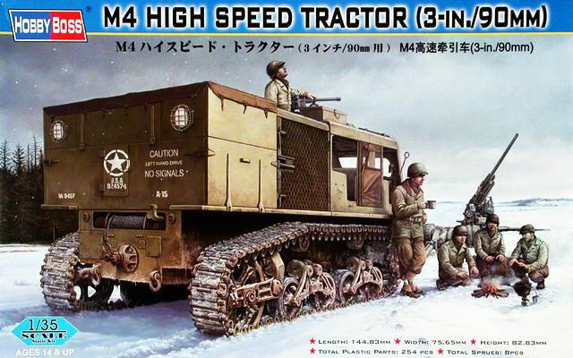 M4 High speed tractor - HOBBYBOSS - 1/35 M410