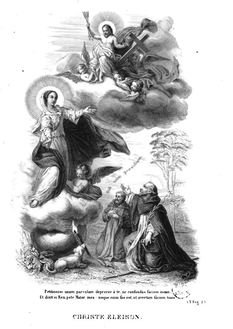 Litanies de Notre-Dame de Lorette. Christ10