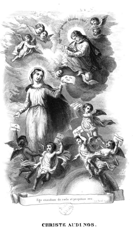 Litanies de Notre-Dame de Lorette. Christ12
