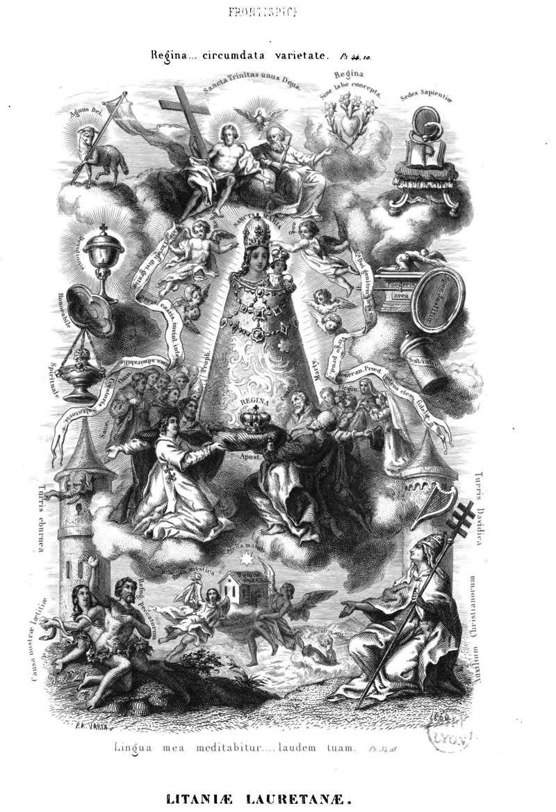 Litanies de Notre-Dame de Lorette. Litani14