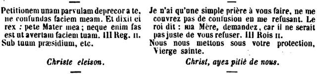 Litanies de Notre-Dame de Lorette. Lygend10