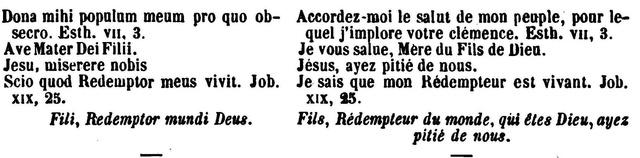 Litanies de Notre-Dame de Lorette. Lygend15