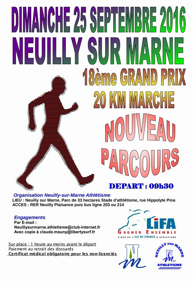 20 km à Neuilly sur Marne (93) 14233210