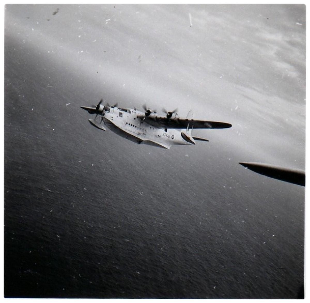 """[Les anciens avions de l'aéro] Hydravion SHORT """"SUNDERLAND"""" 035"""