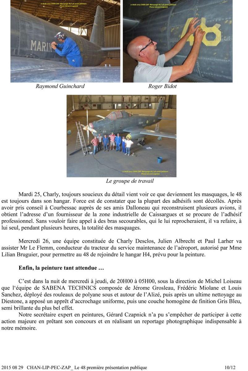 [Associations anciens marins] C.H.A.N.-Nîmes (Conservatoire Historique de l'Aéronavale-Nîmes) - Page 4 1012