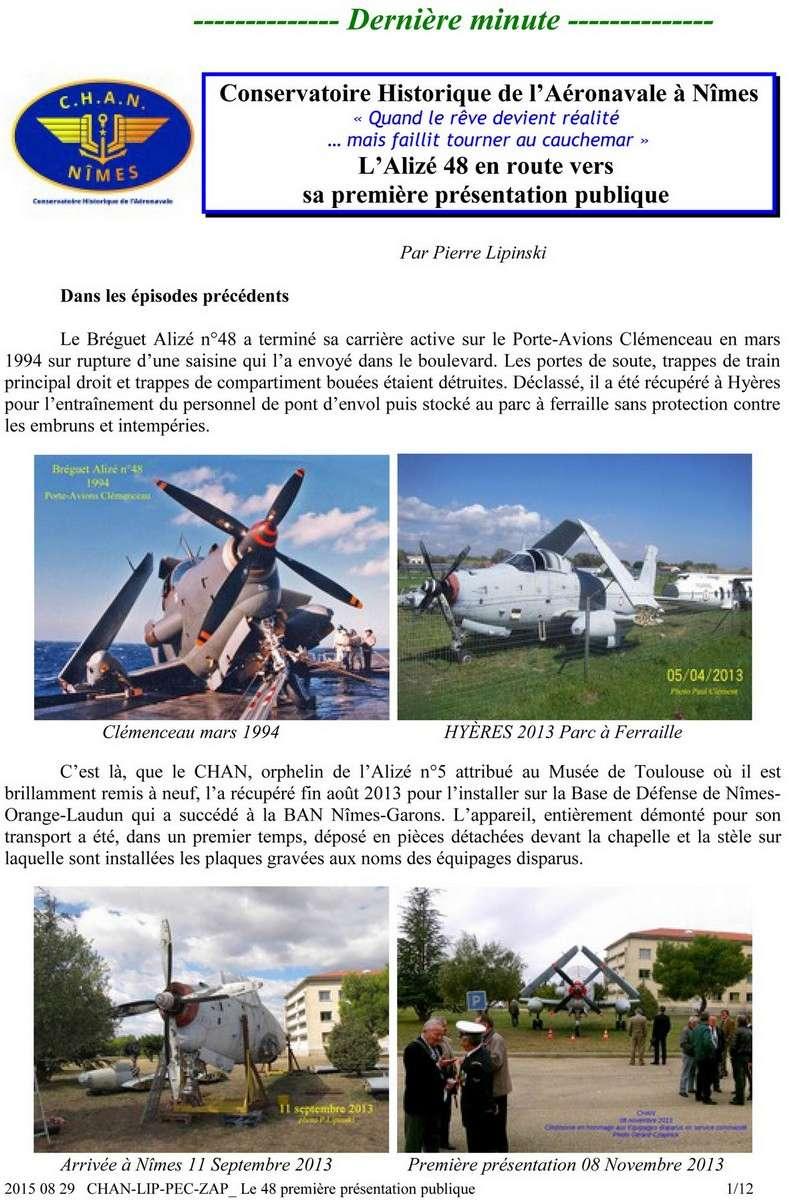 [Associations anciens marins] C.H.A.N.-Nîmes (Conservatoire Historique de l'Aéronavale-Nîmes) - Page 4 175