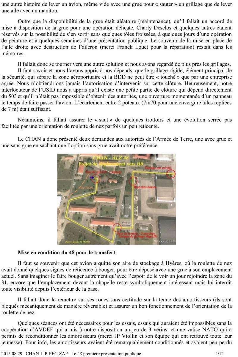 [Associations anciens marins] C.H.A.N.-Nîmes (Conservatoire Historique de l'Aéronavale-Nîmes) - Page 4 426