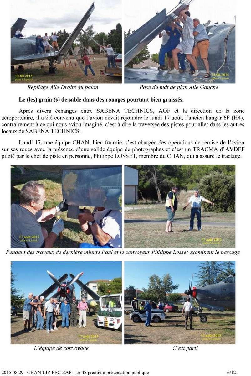 [Associations anciens marins] C.H.A.N.-Nîmes (Conservatoire Historique de l'Aéronavale-Nîmes) - Page 4 619