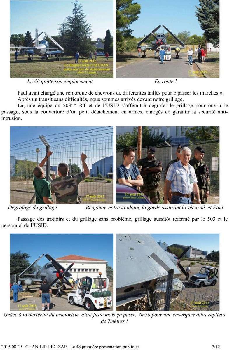 [Associations anciens marins] C.H.A.N.-Nîmes (Conservatoire Historique de l'Aéronavale-Nîmes) - Page 4 717