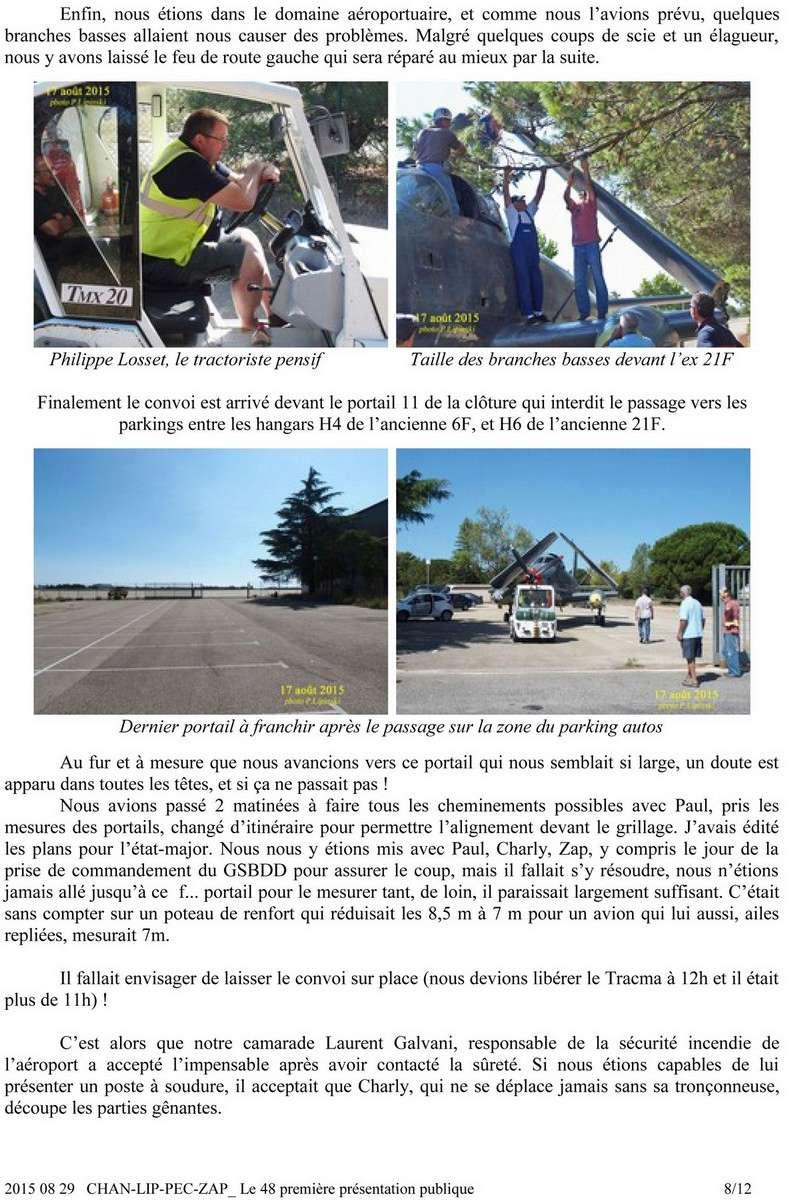 [Associations anciens marins] C.H.A.N.-Nîmes (Conservatoire Historique de l'Aéronavale-Nîmes) - Page 4 815