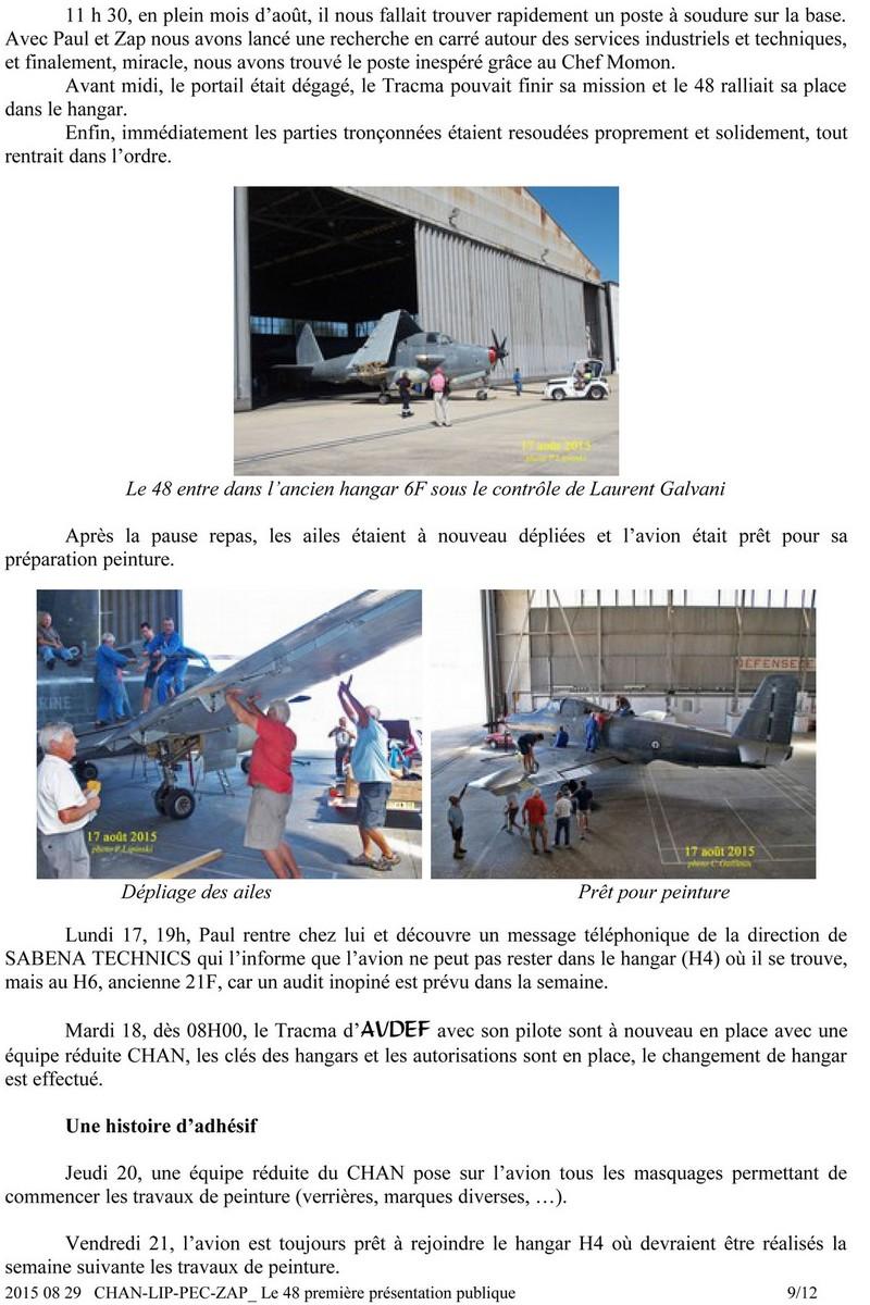 [Associations anciens marins] C.H.A.N.-Nîmes (Conservatoire Historique de l'Aéronavale-Nîmes) - Page 4 915