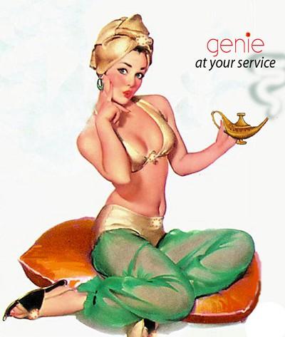Faire sortir le génie de la bouteille Genies10